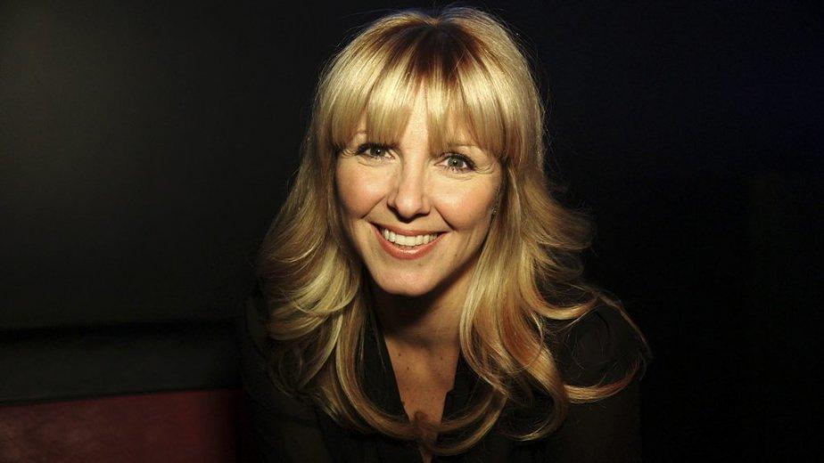 Véronique Cloutier était venue coanimer cette soirée et souhaiter la bienvenue à sa nouvelle collègue de Rythme FM. (Photo: Herby Moreau, La Presse)