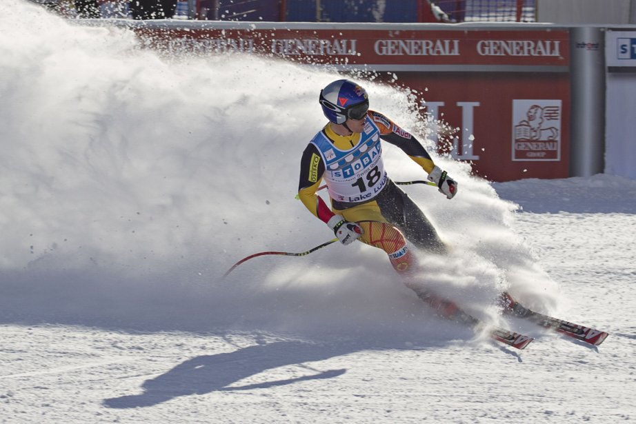 Erik Guay... (Photo: Reuters)