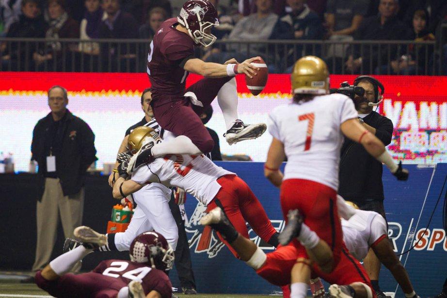 La finale de 2011 (notre photo), qui a... (Photo La Presse Canadienne)