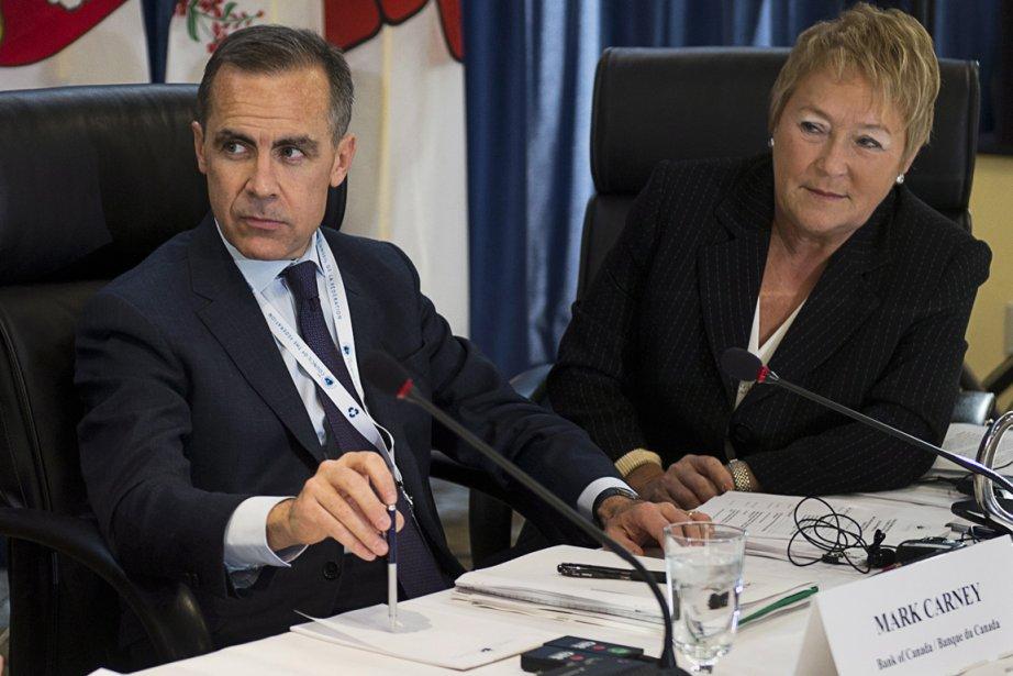 Le gouverneur de la Banque du Canada, Mark... (Photo La Presse Canadienne)