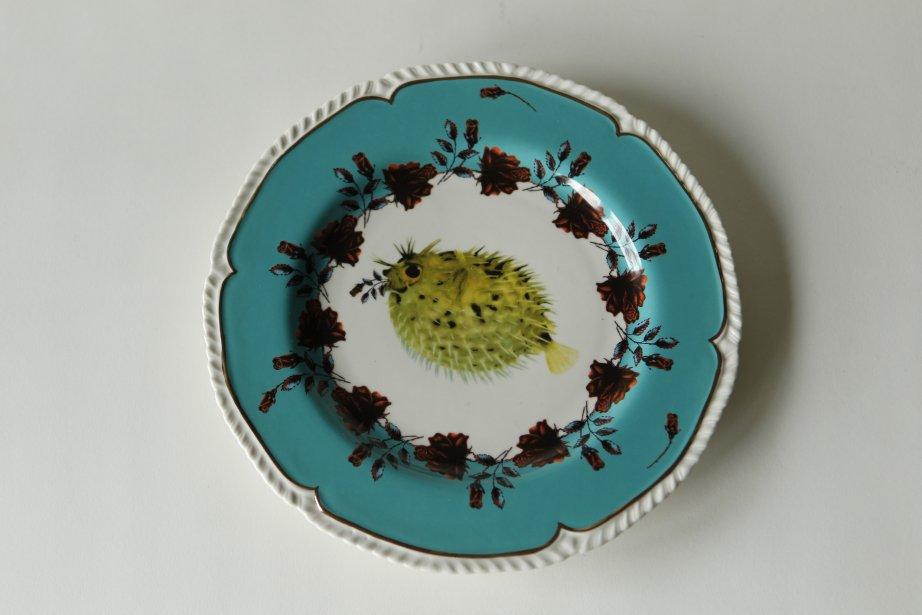 Assiette Lou Rota, 22$. Anthropologie, 2130, rue de la Montagne. | 23 novembre 2012