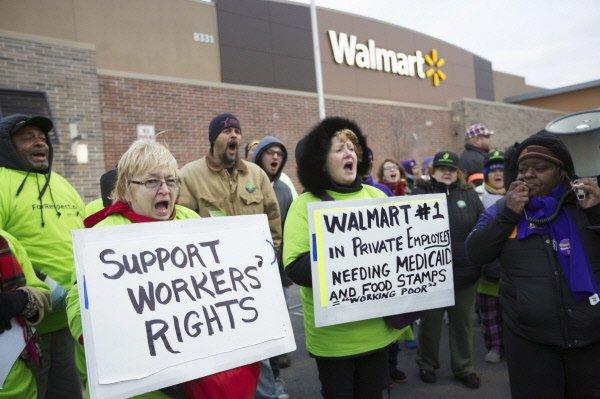 Des dizaines de grèves et manifestations pour de meilleures conditions de...