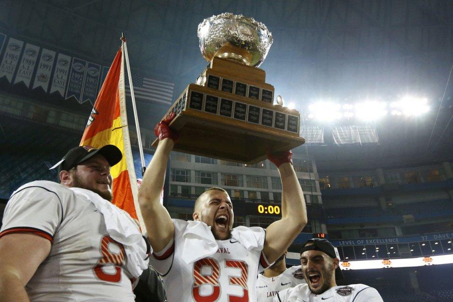 Le Rouge et Or a repris sa place au sommet du football universitaire canadien....