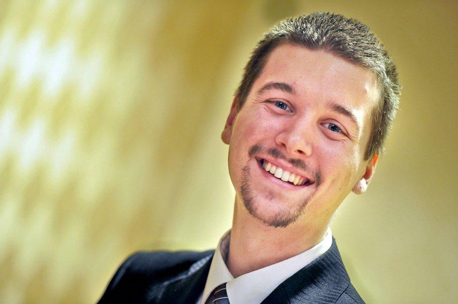 Alexandre Tremblay, du Garage du Parc/Centre Krown Ottawa, a remporté le prix Releve d'entreprise. (Martin Roy, LeDroit)