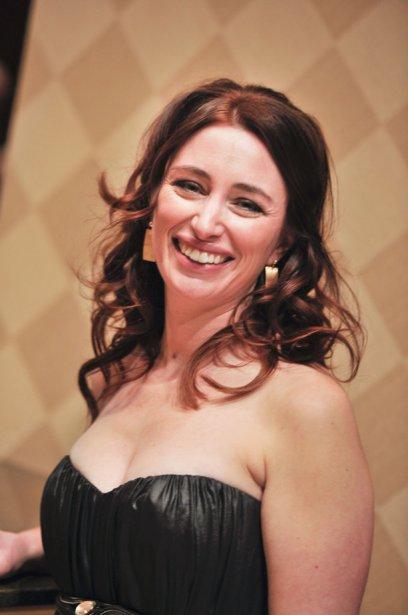 Isabelle Côte, du Centre cardio-respiratoire Outaouais, gagnante du prix Entrepreneuriat au féminin. (Martin Roy, LeDroit)