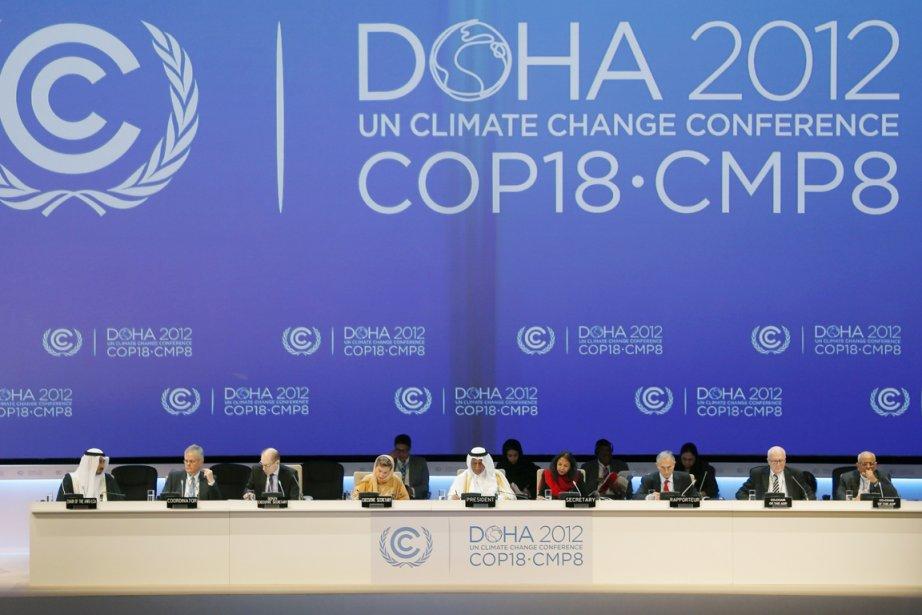 Plus de 190 pays se sont réunis lundi... (PHOTO FADI Al-ASSAAD, REUTERS)