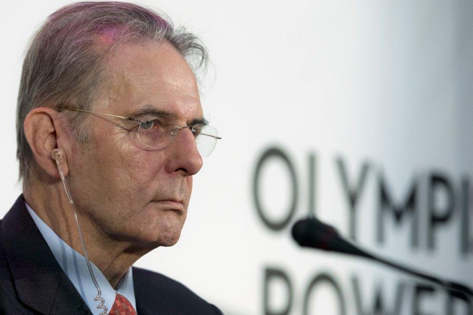Le président du Comité international olympique, Jacques Rogge.... (Photo: AP)