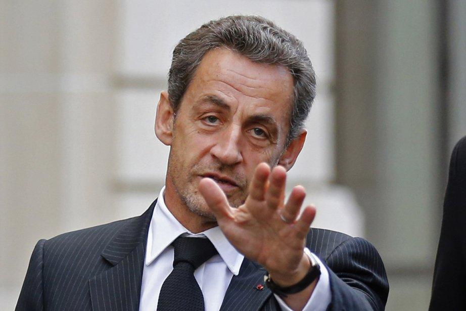 L'ancien président français Nicolas Sarkozy.... (Photo : Benoit Tessier, Reuters)