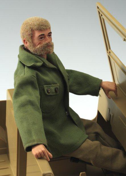 Figurine d?action, G.I. Joe. 1970-1975. Fabricant : Hasbro. Plastique, fibre synthétique, métal, peinture. Prêt de M. Jean-Patrick Lemay. | 27 novembre 2012