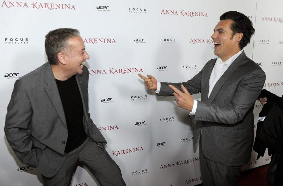 Seamus McGarvey en compagnie du réalisateur Joe Wrigh | 27 novembre 2012