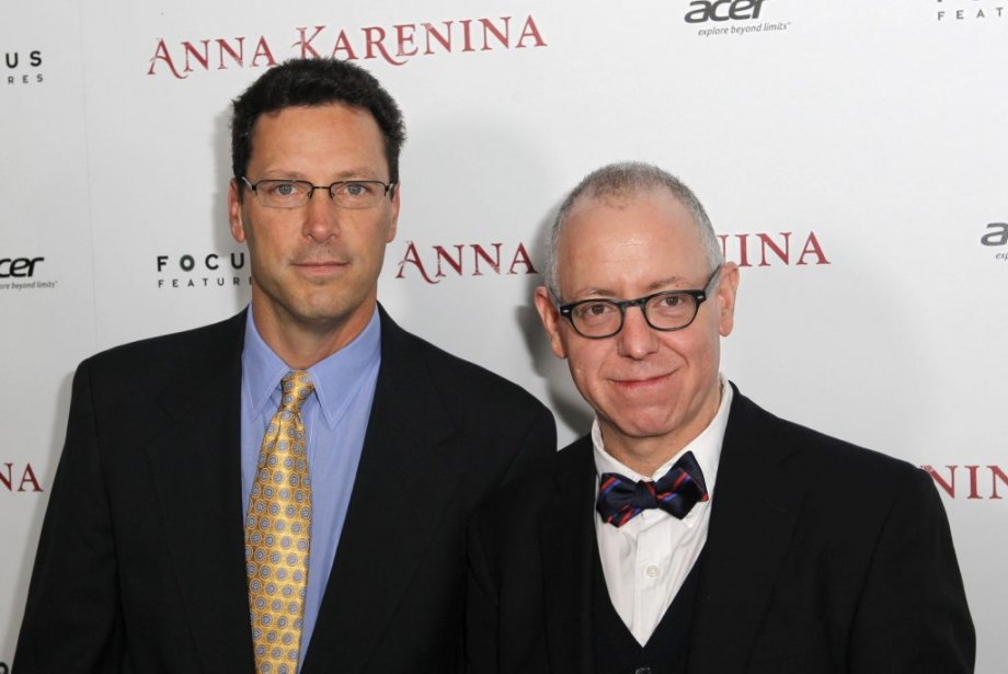 Andrew Karpen et James Schamus, PDG de Focus Features | 27 novembre 2012