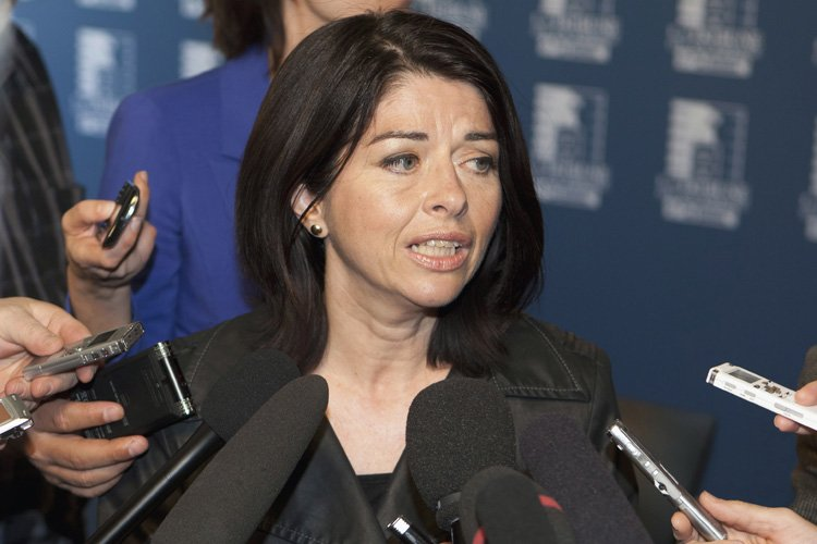 Line Beauchamp a été tour à tour ministre... (Photo: PC)