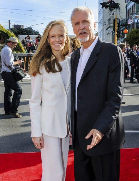 Le réalisateur James Cameron et sa femme Suzy Amis | 28 novembre 2012