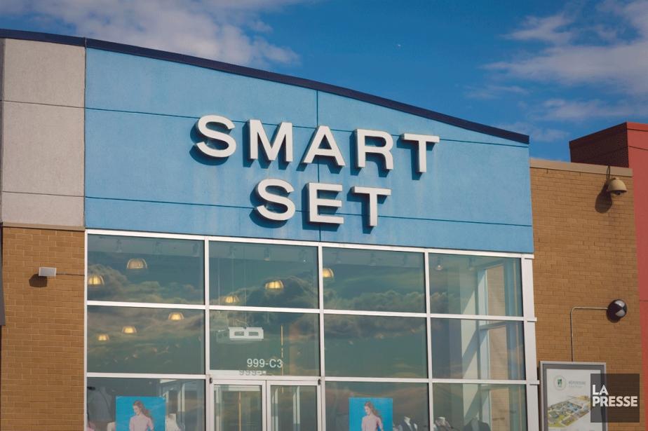 L'enseigne Smart Set représente environ 10% des ventes... (PHOTO ANDRÉ PICHETTE, LA PRESSE)
