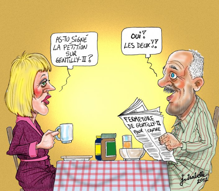 Caricature du 29 novembre | 29 novembre 2012