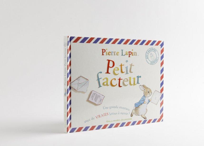 «Pierre Lapin, petit facteur». La mère du célèbre lapin de Beatrix Potter l'envoie porter une lettre à l'épicier. Il est rapidement pris dans une suite de missives qui vire à l'enquête policière. Un bel univers classique, avec plein de détails et de vraies lettres à déplier. À lire et relire.... ()