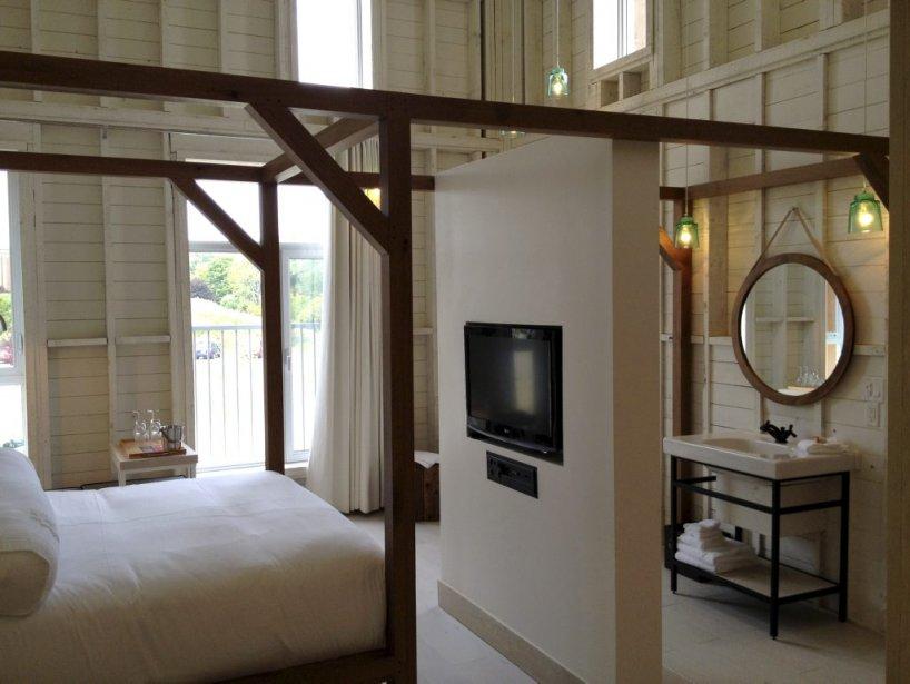 Les chambres du Clos invitent à la détente. (Photo fournie par l'hôtel La Ferme)