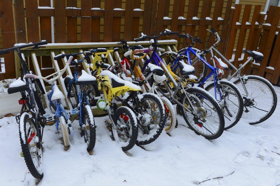 La petite bordée de neige à Québec le 29 novembre... | 2012-11-30 00:00:00.000