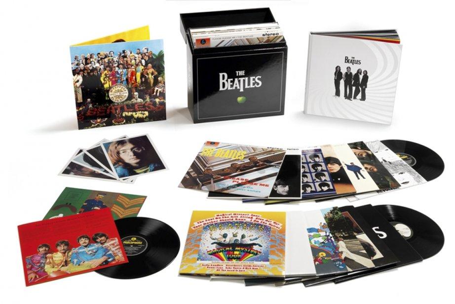 Le coffret des vinyles stéréo des Beatles ()
