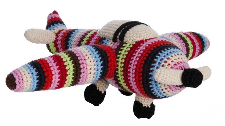 Jouets en tricot Anne-Claire Petit. 55$, holtrenfrew.com ()
