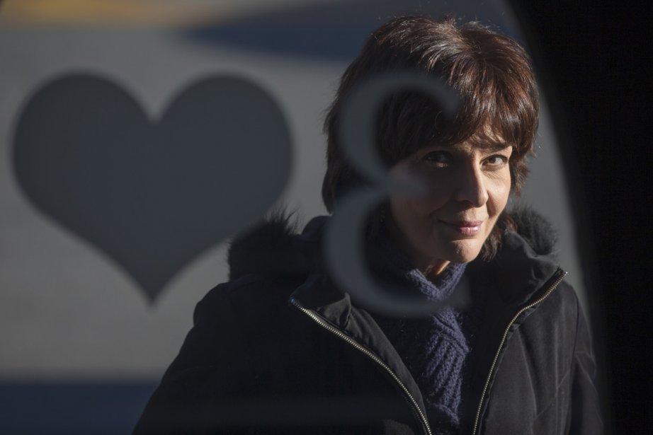 Micheline Bernard interprète dans La mise à l'aveugle... (Photo: Ivanoh Demers, La Presse)