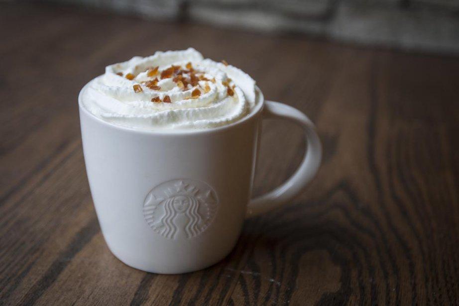 Café caramel anglais du Starbuck... | 2012-12-03 00:00:00.000