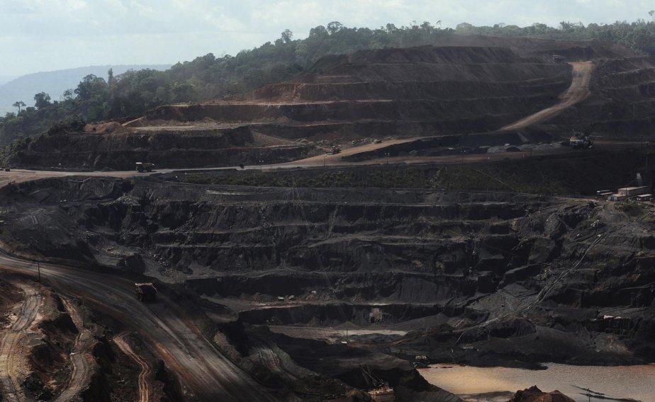 Une mine de Vale au Brésil.... (PHOTO REUTERS)