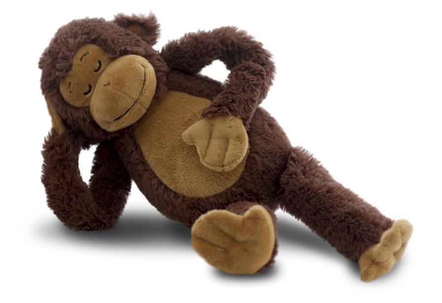 Un singe parlant. Mimicking Monkey, par Cloud B. 39,99$. Pour tous les âges. www.cloudb.com ()