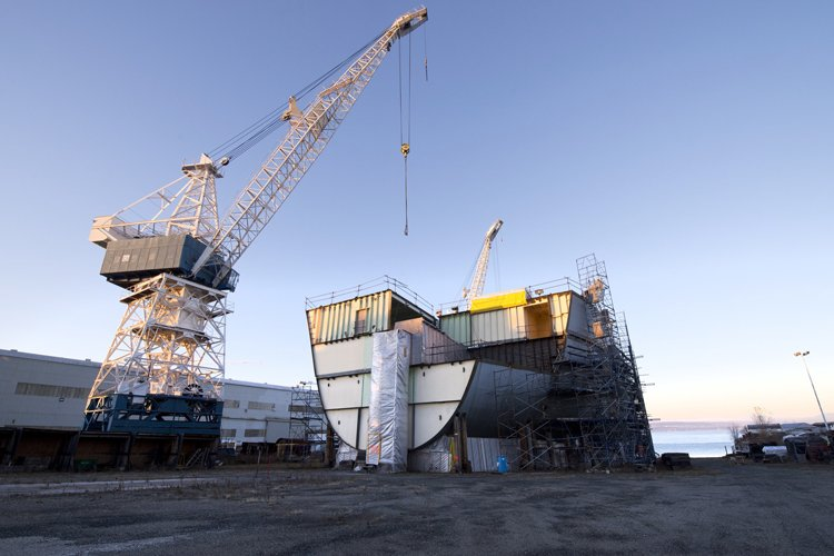Le chantier maritime Davie a récemment été vendu... (Photothèque Le Soleil)