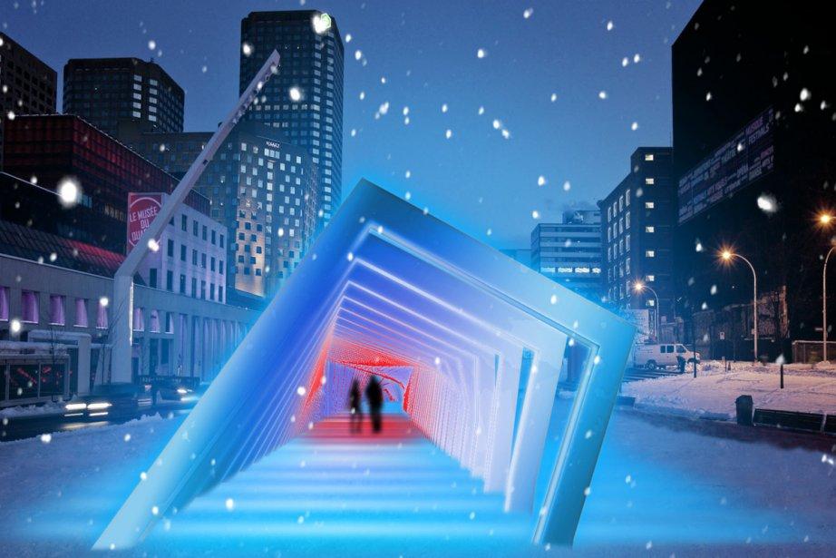 Les concepteurs... (Photo: fournie par le Partenariat du Quartier des spectacles)