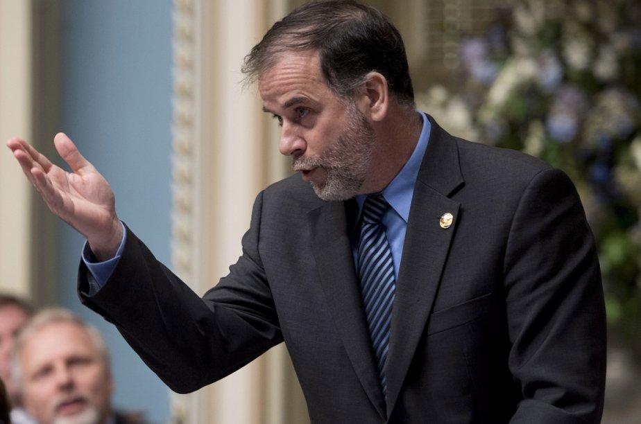 Le ministre de l'Enseignement supérieur, Pierre Duchesne.... (Photo La Presse Canadienne)