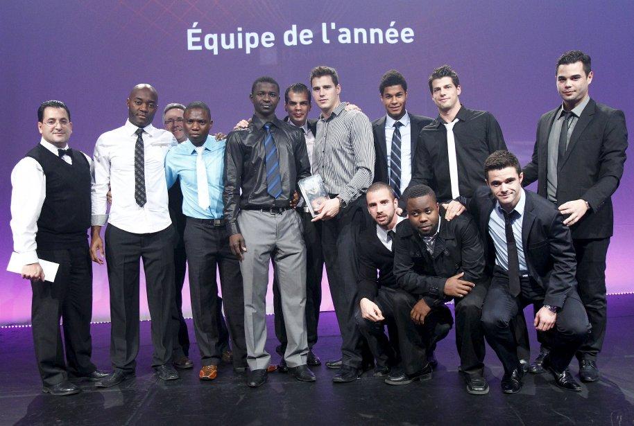 ÉQUIPE DE L'ANNÉE Royal-sélect de Beauport senior masculin AAA, soccer | 5 décembre 2012
