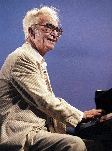 Dave Brubeck au Festival de jazz d'Antibes-Juan-les-Pins en juillet 1999. | 5 décembre 2012