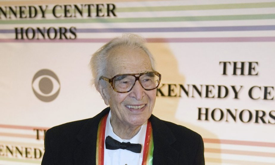 Dave Brubeck honoré au Kennedy Center de Washington en décembre 2009. (Photo: AFP)