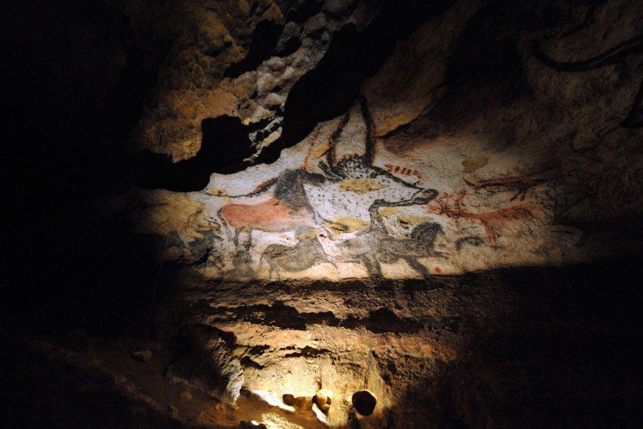 Les grottes de Lascaux, en France.... (Photo AFP)