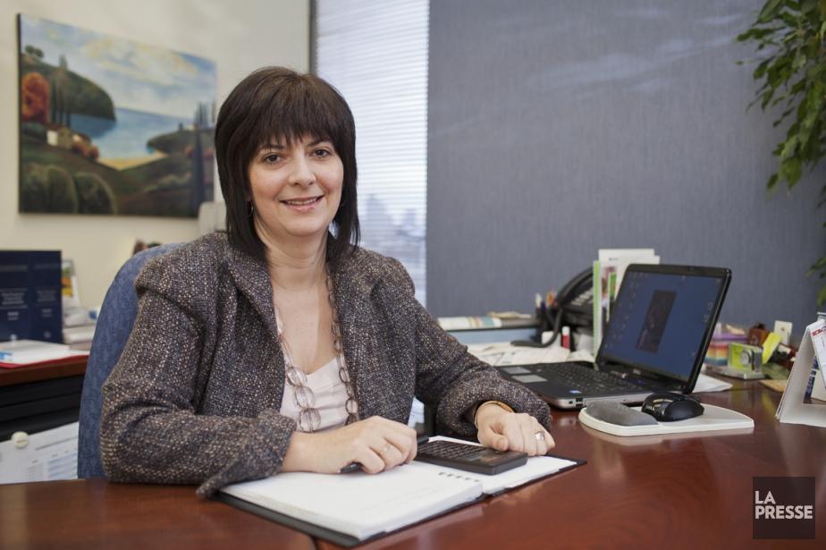 Nathalie Bachand, A.S.A. planificatrice financière... (Photo Edouard Plante-Fréchette, La Presse)