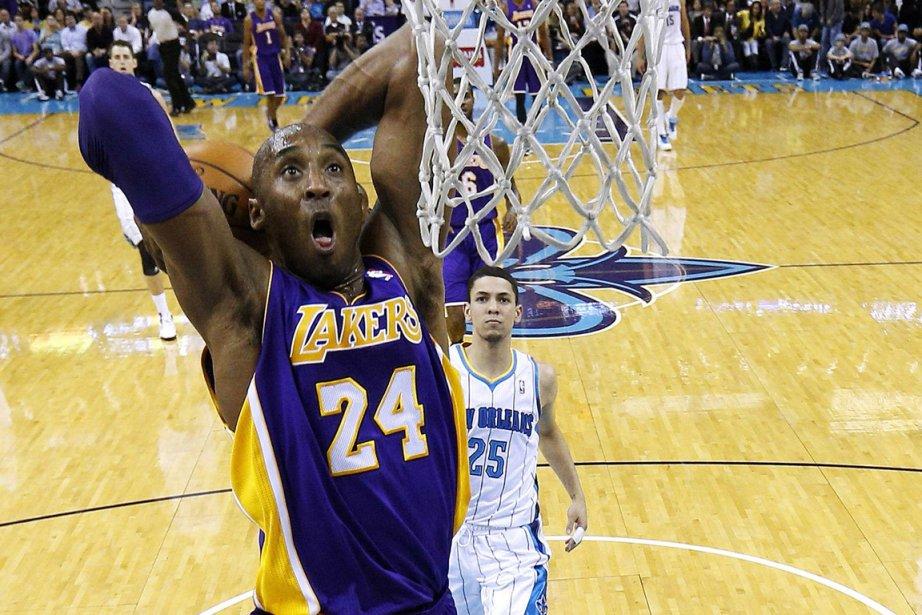 Kobe Bryant est devenu le cinquième joueur de... (Photo: Reuters)