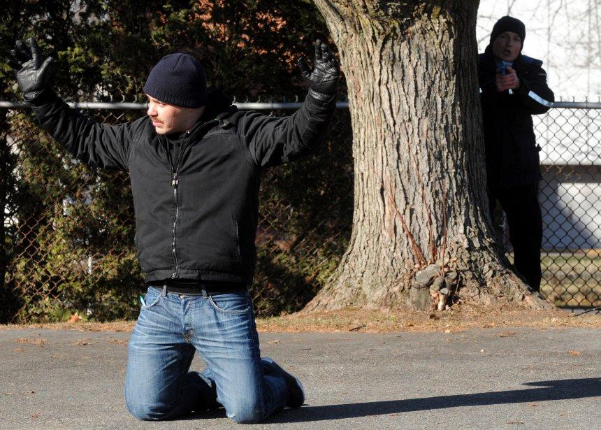 Le Nouvelliste a vécu une journée-type avec des aspirants policiers... | 2012-12-06 00:00:00.000