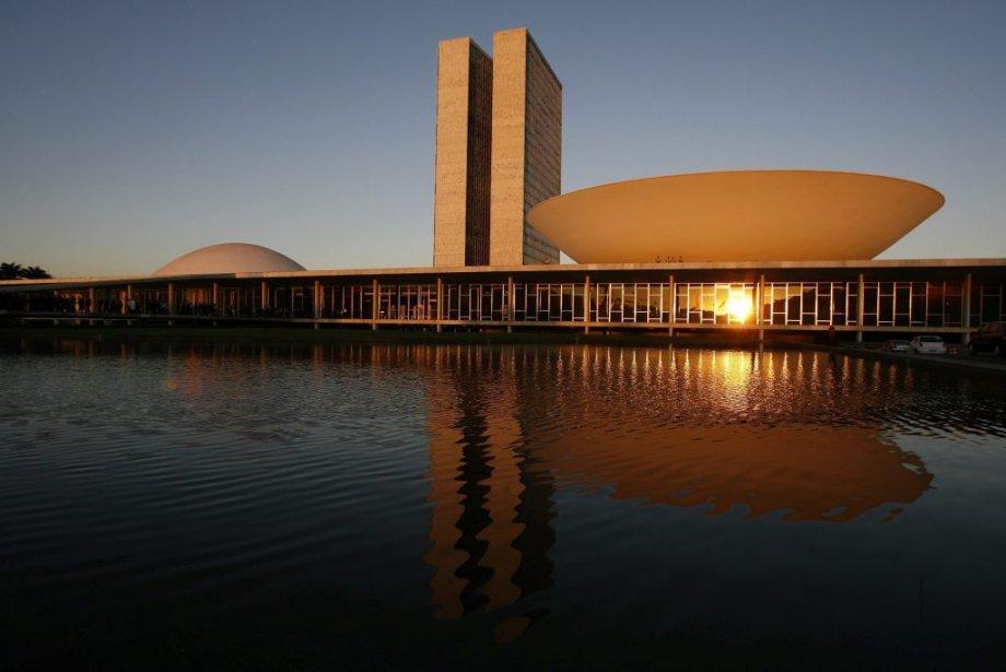 Le Congrès National, une oeuvre d'Oscar Niemeyer, a été inauguré en 1960 à Brasilia. | 6 décembre 2012