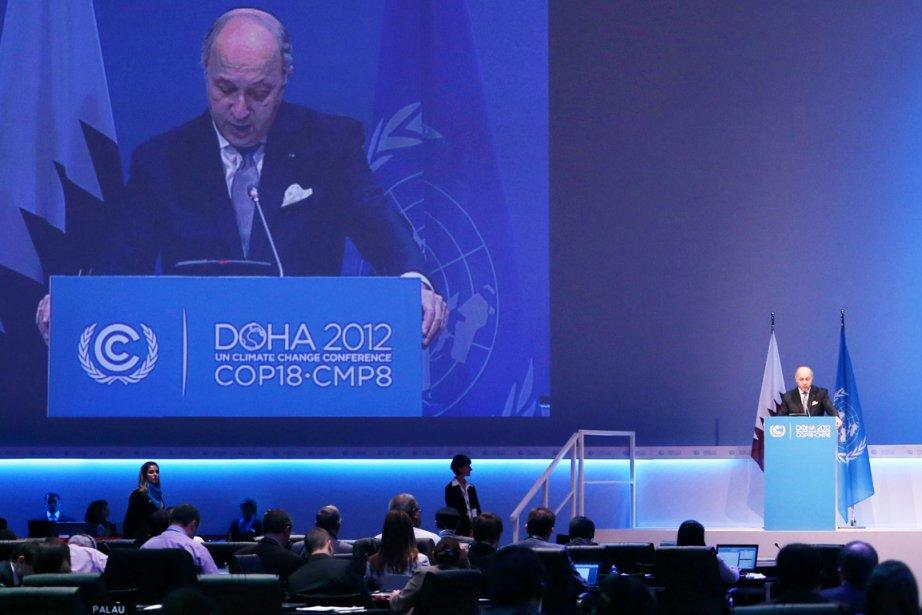 Le ministre français des Affaires étrangères, Laurent Fabius,... (PHOTO  KARIM JAAFAR, AFP)