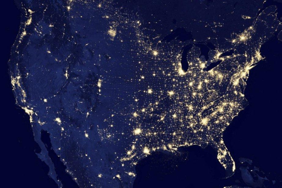 L'Amérique du Nord. | 7 décembre 2012