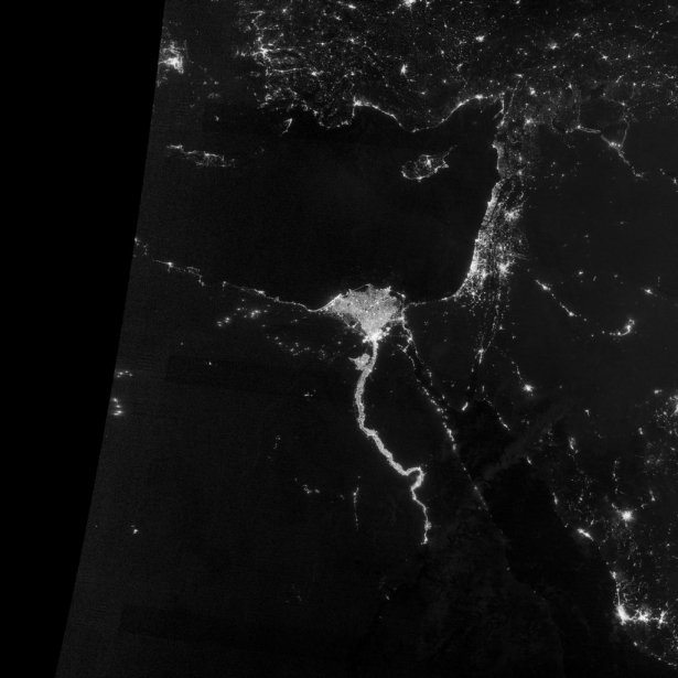 Le Nil en Égypte. | 7 décembre 2012