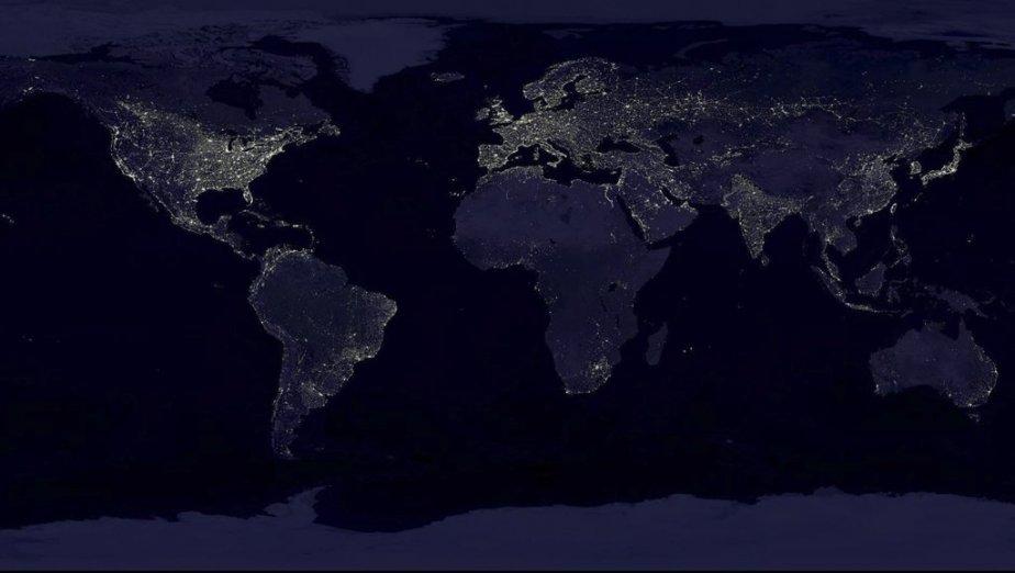 La Terre. | 7 décembre 2012