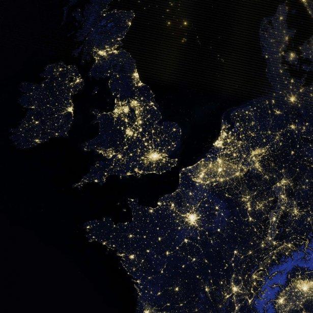L'Europe de l'Ouest. | 7 décembre 2012