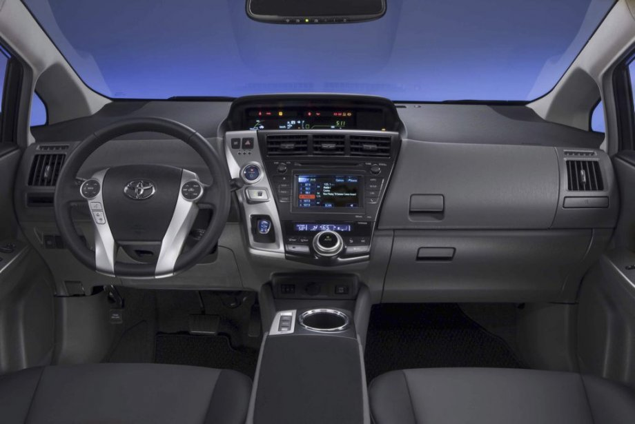 Toyota Prius V. (Photo fournie par Toyota)