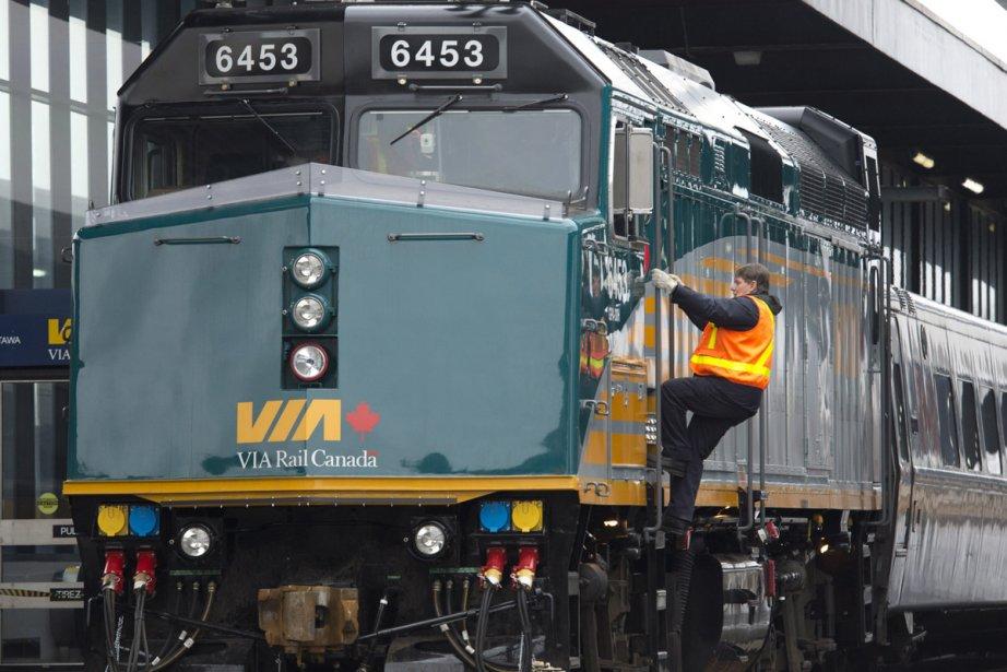 Via Rail affirme que son service de transport de... (Photo: La Presse Canadienne)
