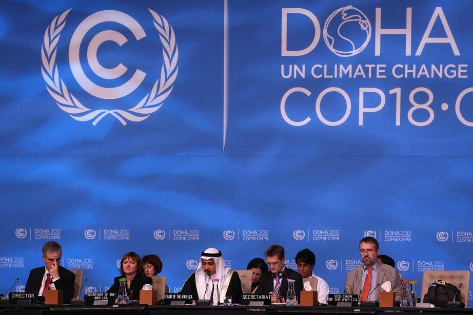 Les délégations ont mené des consultations tous azimuts... (Photo: AFP)