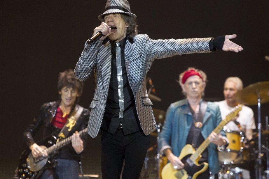 Les Stones ont vu le jour à Londres... (PHOTO JOEL RYAN, AP)