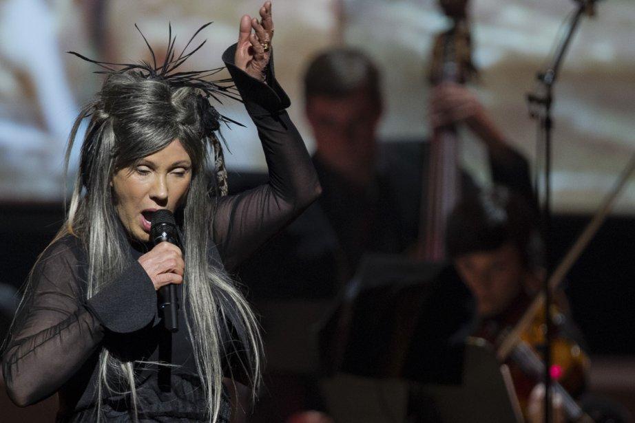 Diane Dufresne a présenté des chansons réarrangées par... (Photo: Édouard Plante-Fréchette, La Presse)