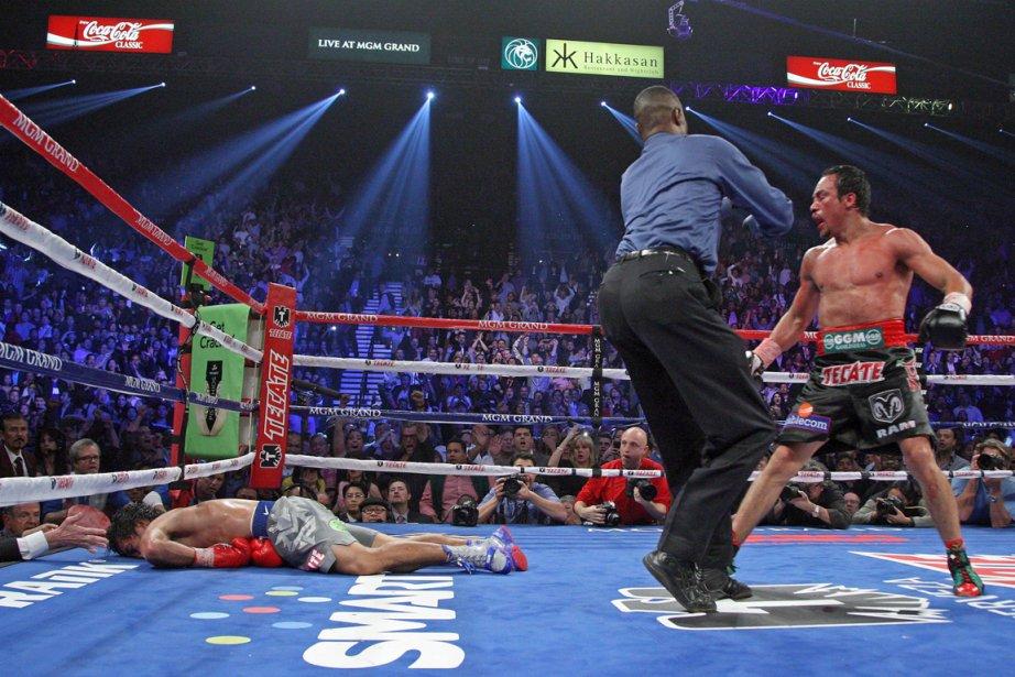 Manny Pacquiao s'est fait passer le K.-O. par... (Photo: AFP)
